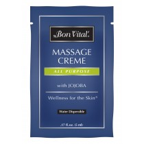 Bon Vital' All Purpose Massage Creme 0.17 fl oz trial size