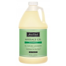 Bon Vital' Naturale Massage Gel 1/2 Gallon Bottle